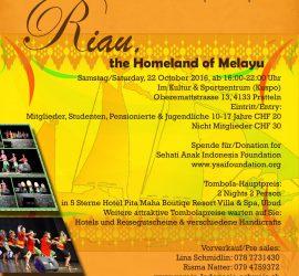 "Herbstfest: ""Riau, the Homeland of Melayu"""